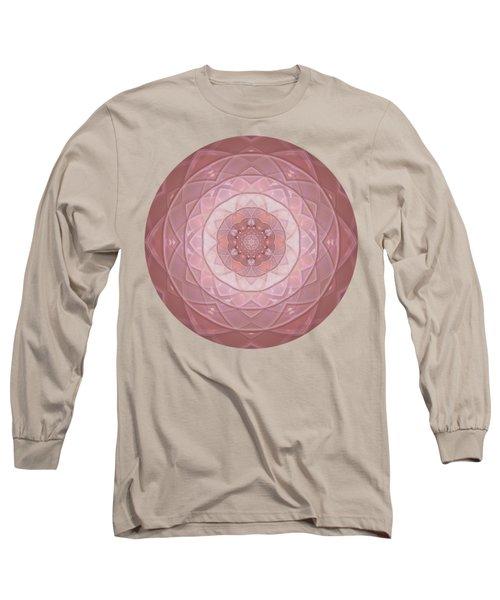 Mandala Introspective Love  Long Sleeve T-Shirt