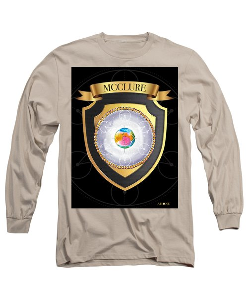 Mcclure Family Crest Long Sleeve T-Shirt