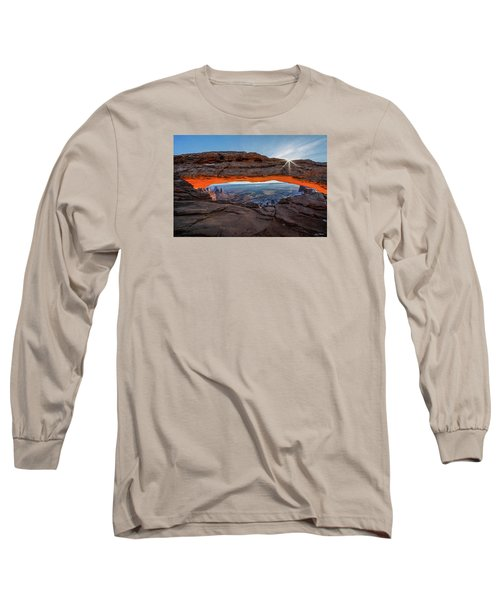 Mesa Arch Sunrise 2017 Long Sleeve T-Shirt