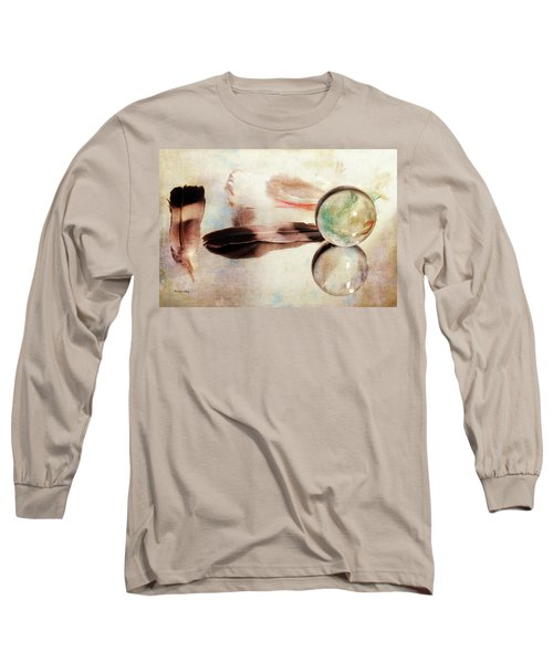 Long Sleeve T-Shirt featuring the photograph Messages From Above by Randi Grace Nilsberg