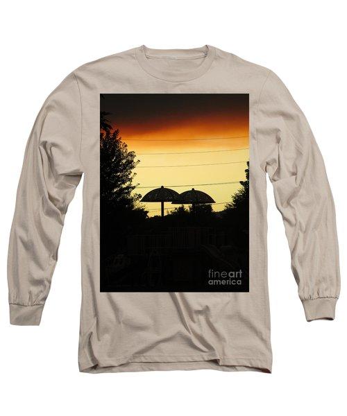 Metallic Love Long Sleeve T-Shirt
