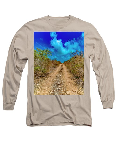 Middle Caicos Rocky Road Long Sleeve T-Shirt