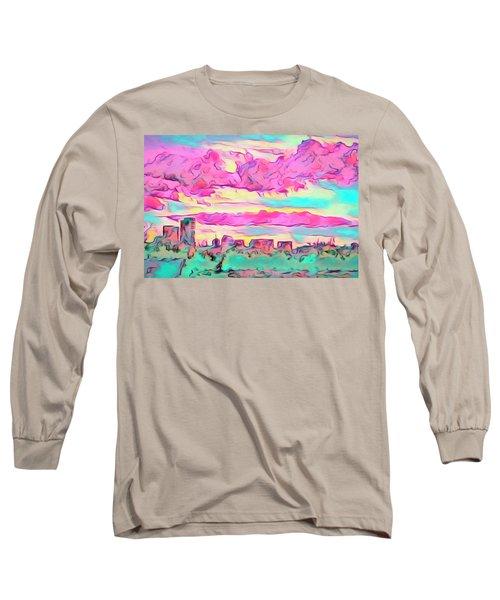 Mile High Sunset Long Sleeve T-Shirt