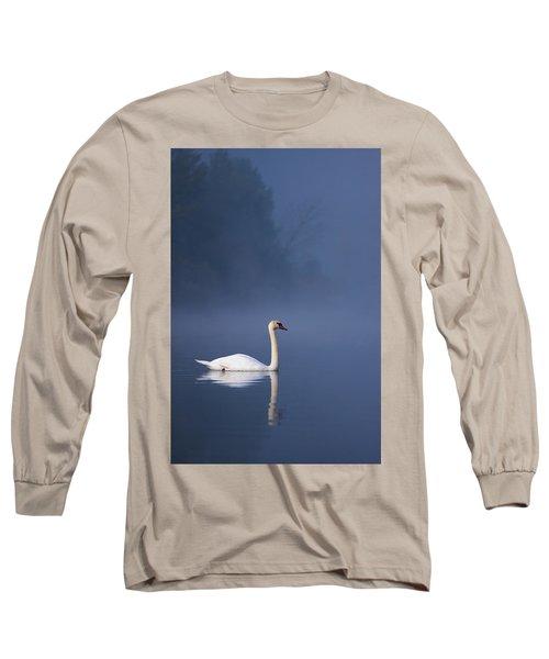 Misty River Swan 2 Long Sleeve T-Shirt