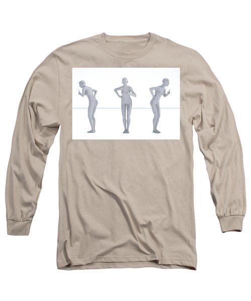Models 001 Long Sleeve T-Shirt