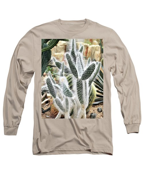 Mojave Prickly Pear Long Sleeve T-Shirt