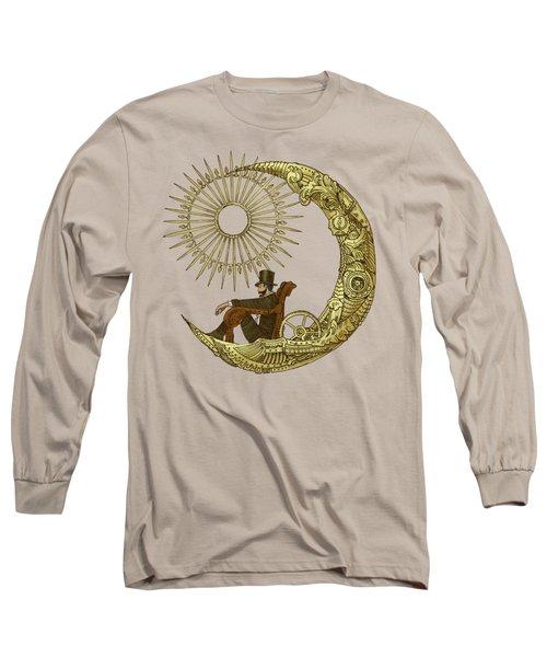 Moon Travel - Option Long Sleeve T-Shirt