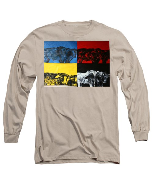 Mooving Out Of Our Land Long Sleeve T-Shirt