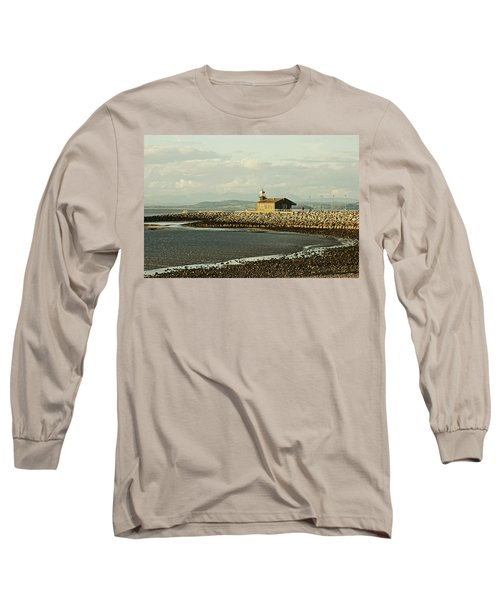 Morecambe. The Stone Jetty. Long Sleeve T-Shirt