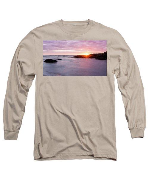 Morning Sun Good Harbor Long Sleeve T-Shirt