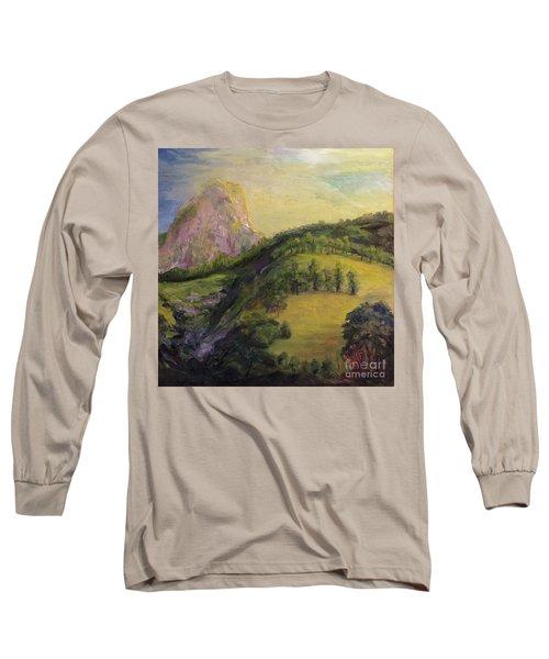 Moro Rock, Kings Canyon Long Sleeve T-Shirt