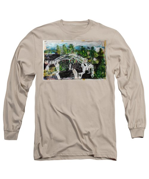 Mother Money Begins To Collapse Long Sleeve T-Shirt