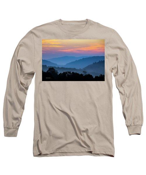 Mountain Tide Long Sleeve T-Shirt