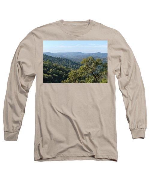 Mountains Of Loule. Serra Do Caldeirao Long Sleeve T-Shirt