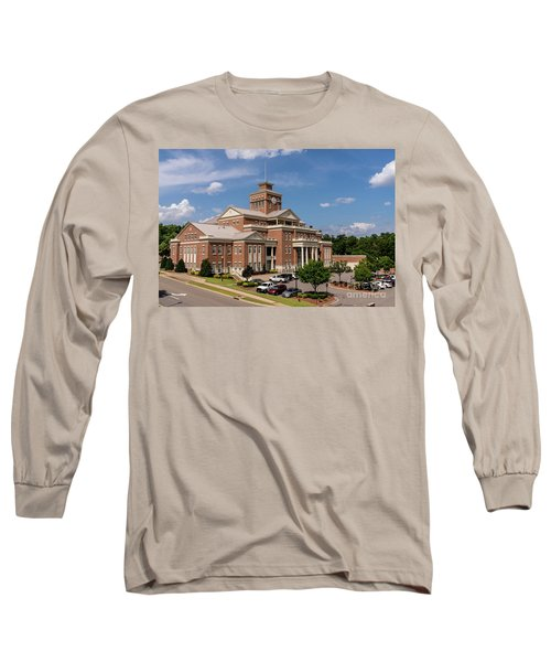 Municipal Building - North Augusta Sc Long Sleeve T-Shirt