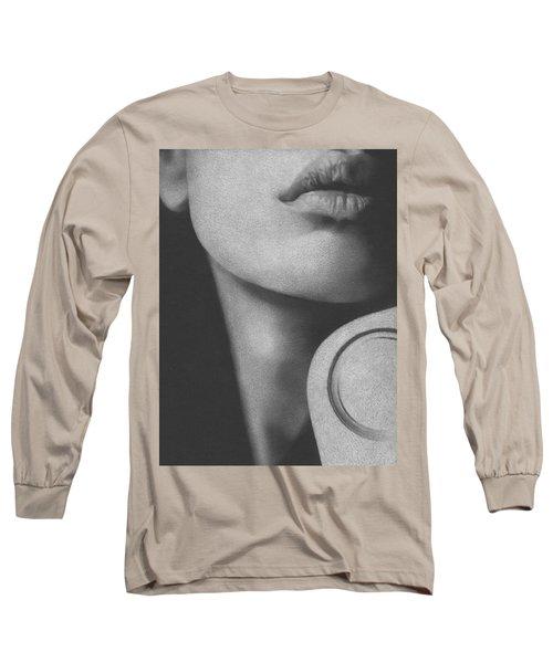 Muted Shadow No. 8 Long Sleeve T-Shirt