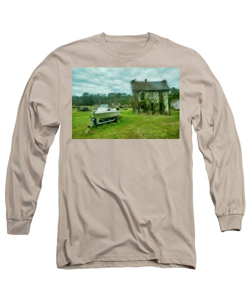 Auntie's Old House Long Sleeve T-Shirt
