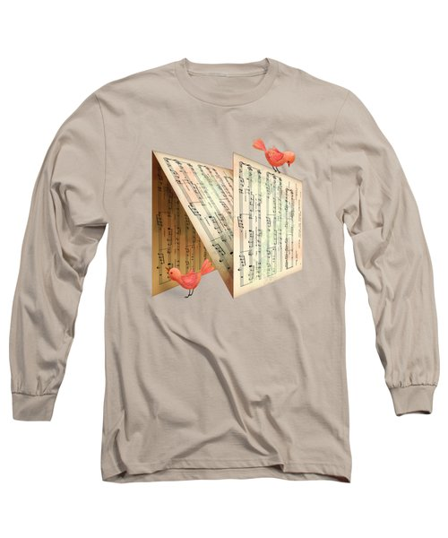 N Is For Notes Long Sleeve T-Shirt