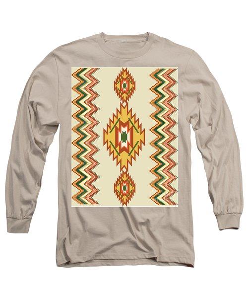 Native American Rug Long Sleeve T-Shirt