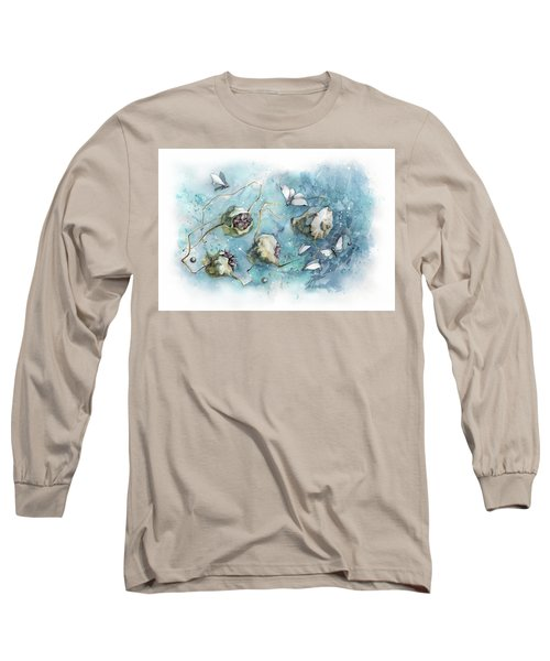 Nature's Fantasy Abstract Long Sleeve T-Shirt
