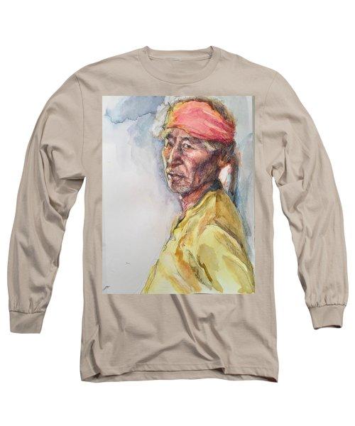 Navaho Man Long Sleeve T-Shirt