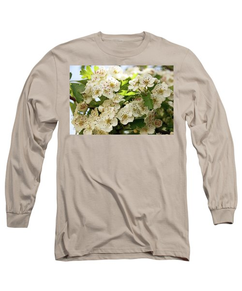 Neston.  Hawthorn Blossom. Long Sleeve T-Shirt