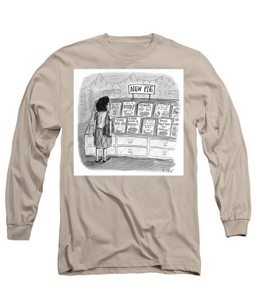New Pie Long Sleeve T-Shirt
