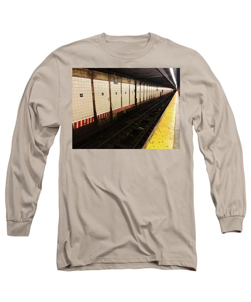 New York City Subway Line Long Sleeve T-Shirt