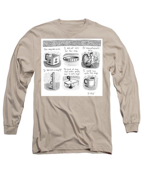 New York Review Of Mugs Long Sleeve T-Shirt