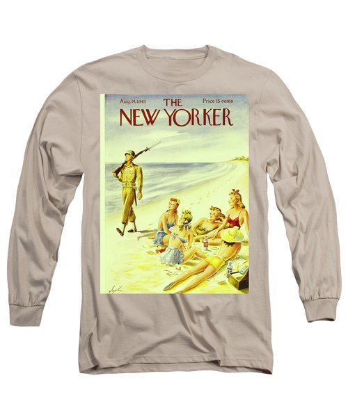 New Yorker August 14th 1943 Long Sleeve T-Shirt