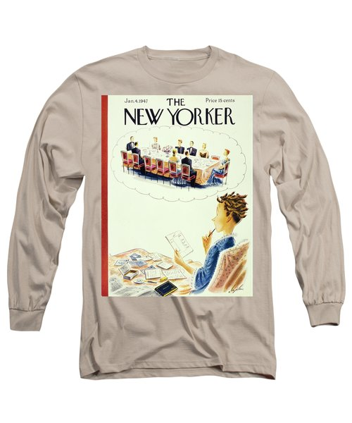 New Yorker January 4th 1947 Long Sleeve T-Shirt