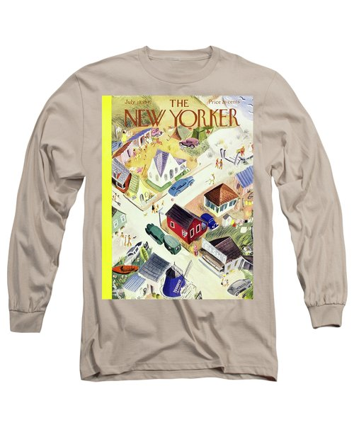 New Yorker July 19th 1947 Long Sleeve T-Shirt