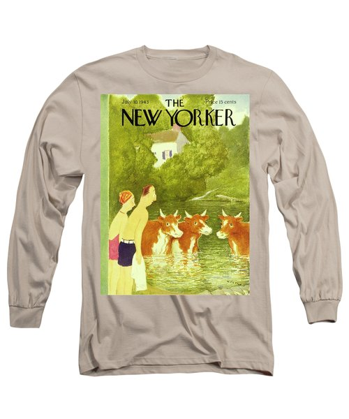 New Yorker July 10th 1943 Long Sleeve T-Shirt