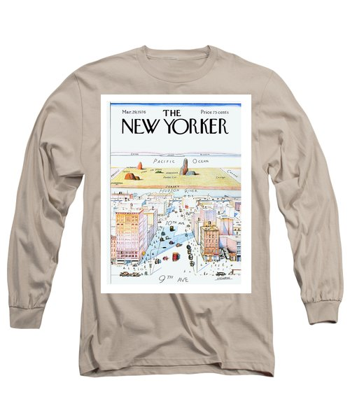 New Yorker March 29, 1976 Long Sleeve T-Shirt