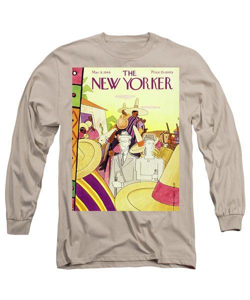 New Yorker March 9th 1946 Long Sleeve T-Shirt