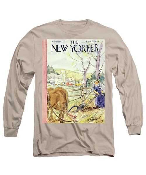 New Yorker May 17th 1947 Long Sleeve T-Shirt