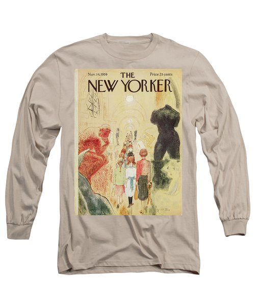 New Yorker November 14 1959 Long Sleeve T-Shirt