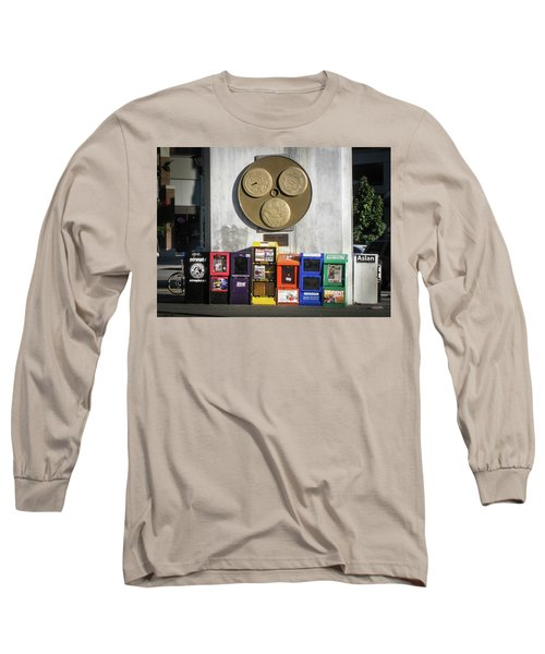 Newsstands At Gilmore Long Sleeve T-Shirt
