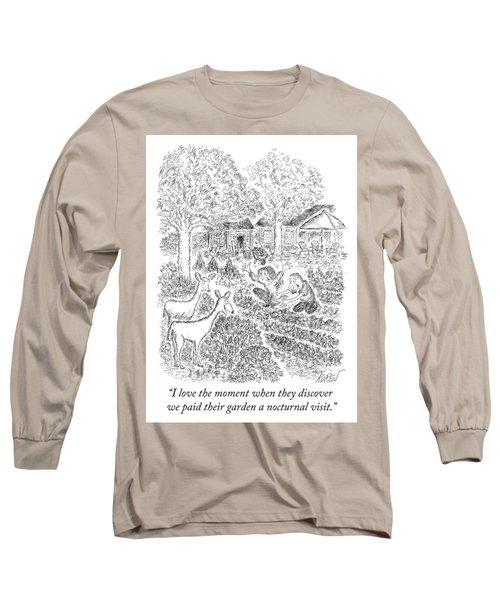 Nocturnal Visit Long Sleeve T-Shirt