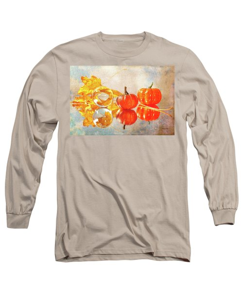 Long Sleeve T-Shirt featuring the photograph October Reflections by Randi Grace Nilsberg