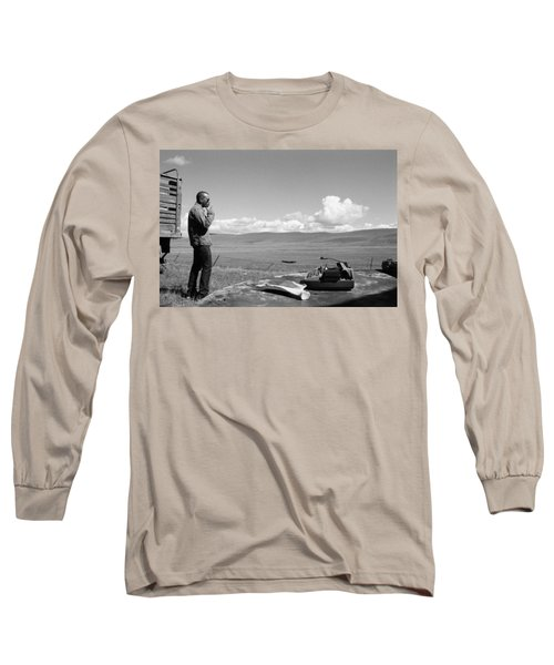 Office Of The Poet Long Sleeve T-Shirt