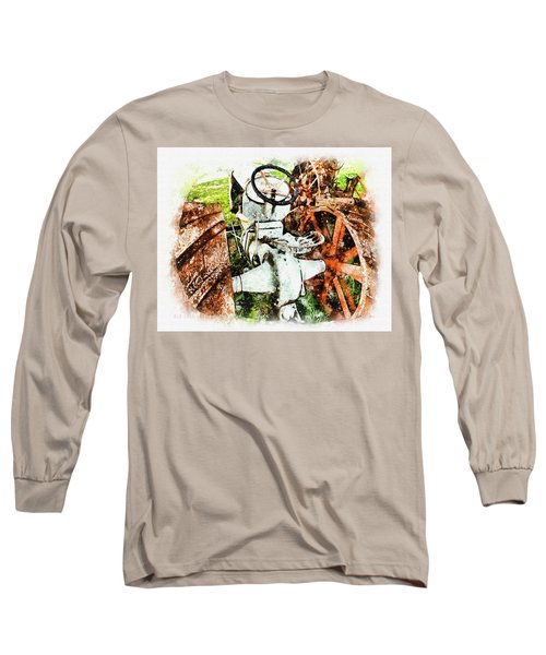 Old 1921 Fordson  Long Sleeve T-Shirt