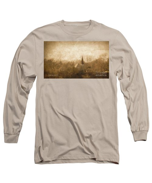 Old Church On A Hill  Long Sleeve T-Shirt