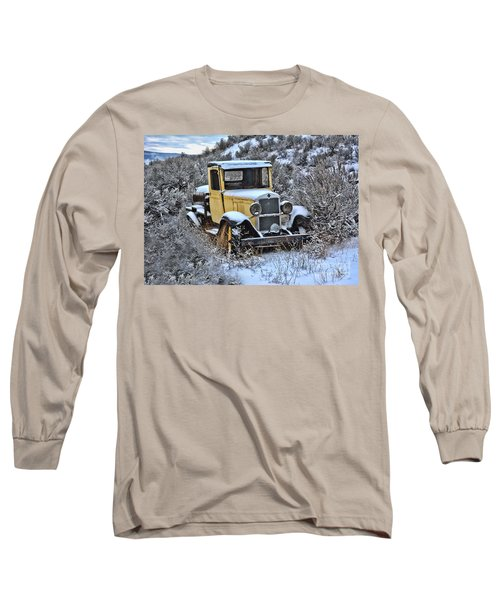 Old Yellow Truck Long Sleeve T-Shirt