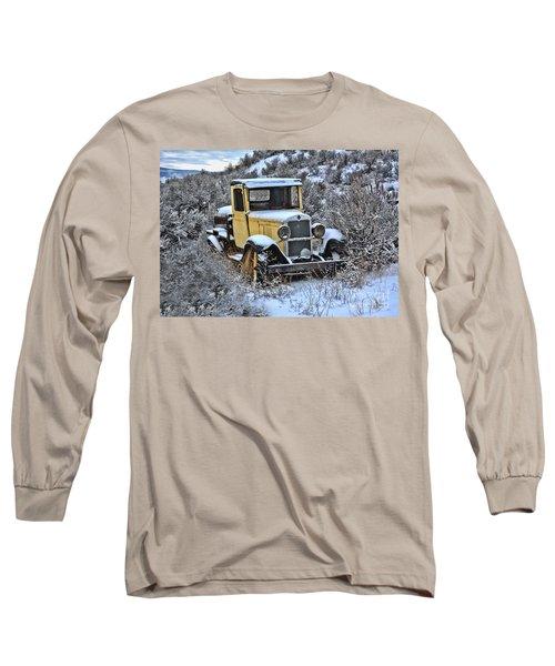 Old Yellow Truck Long Sleeve T-Shirt
