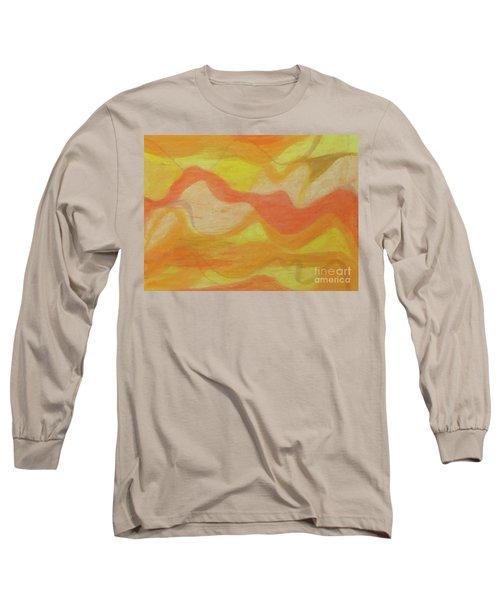 Orange Colors 1 Long Sleeve T-Shirt