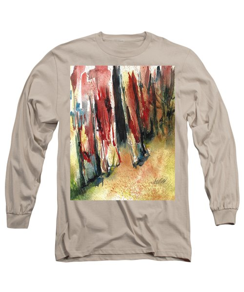 Out Back Behind The Old Red Barn Long Sleeve T-Shirt