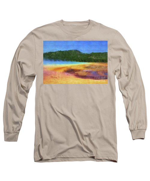 Painting #5 Long Sleeve T-Shirt