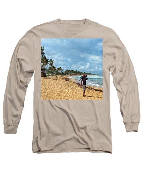 Palm Tree Paradise Long Sleeve T-Shirt
