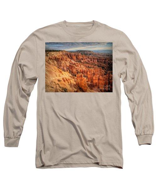 Panorama Bryce Canyon Utah  Long Sleeve T-Shirt
